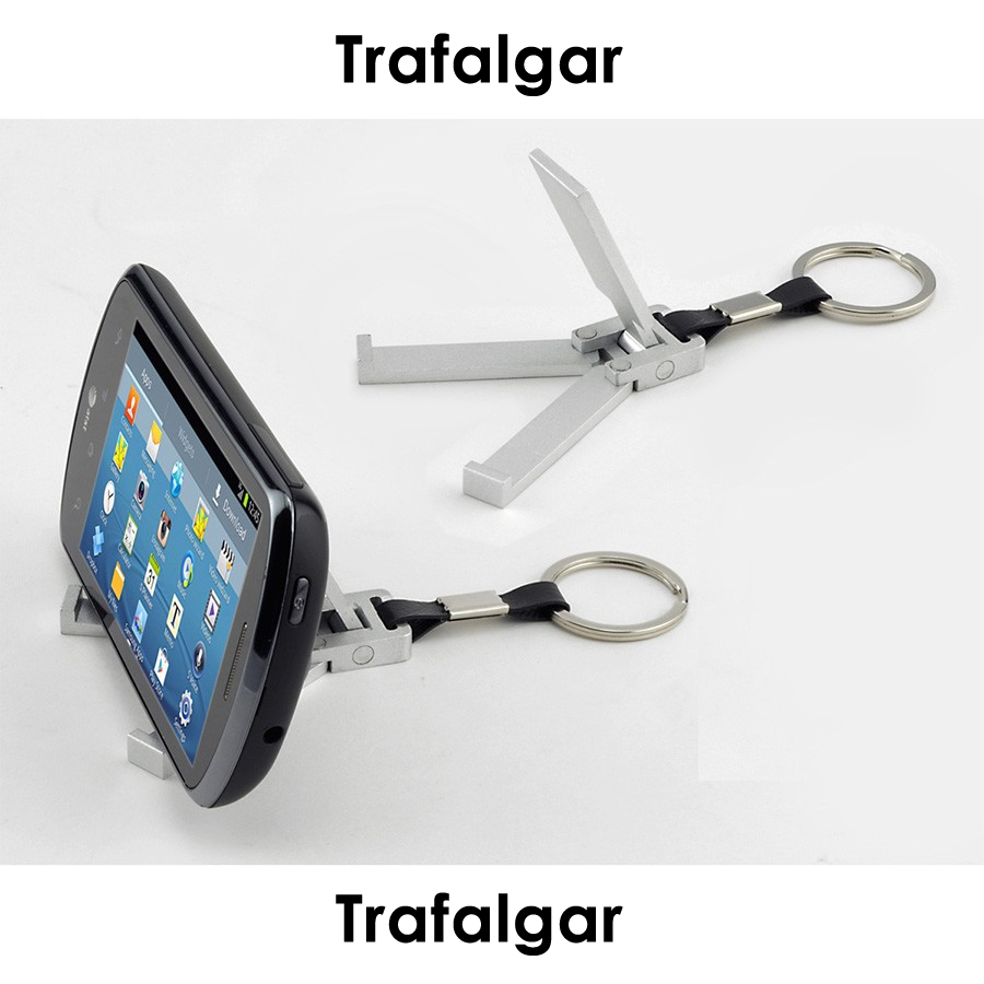Mobile Phone Stand Keychain