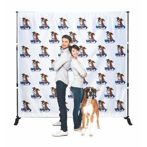 Backdrop Step & Repeat Banner Stand w/8.5' x 8' Banner
